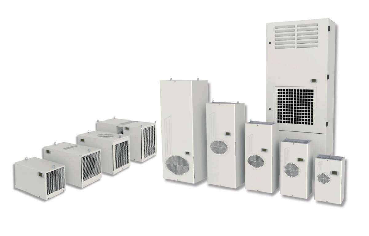 Klimatyzator do szaf rack lub szaf sterowniczych