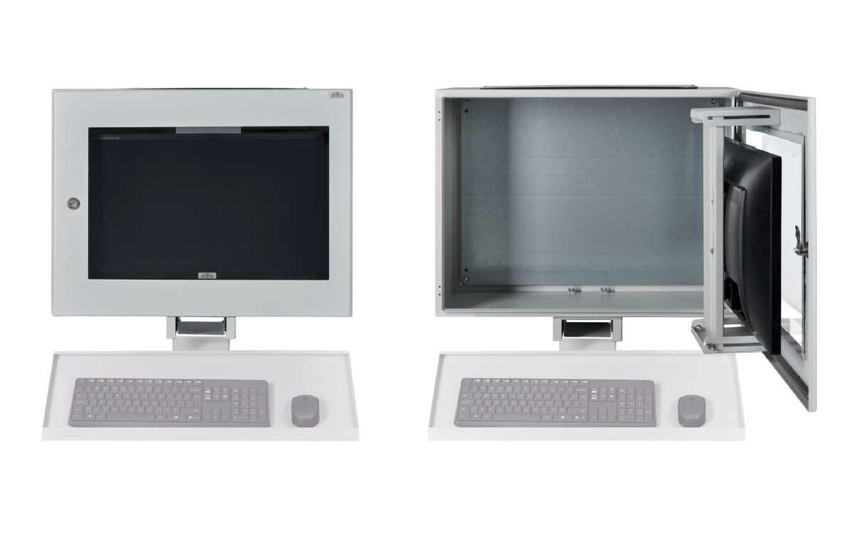 Wisząca obudowa na monitor i pc pyłoszczelna IP 65 WOPC
