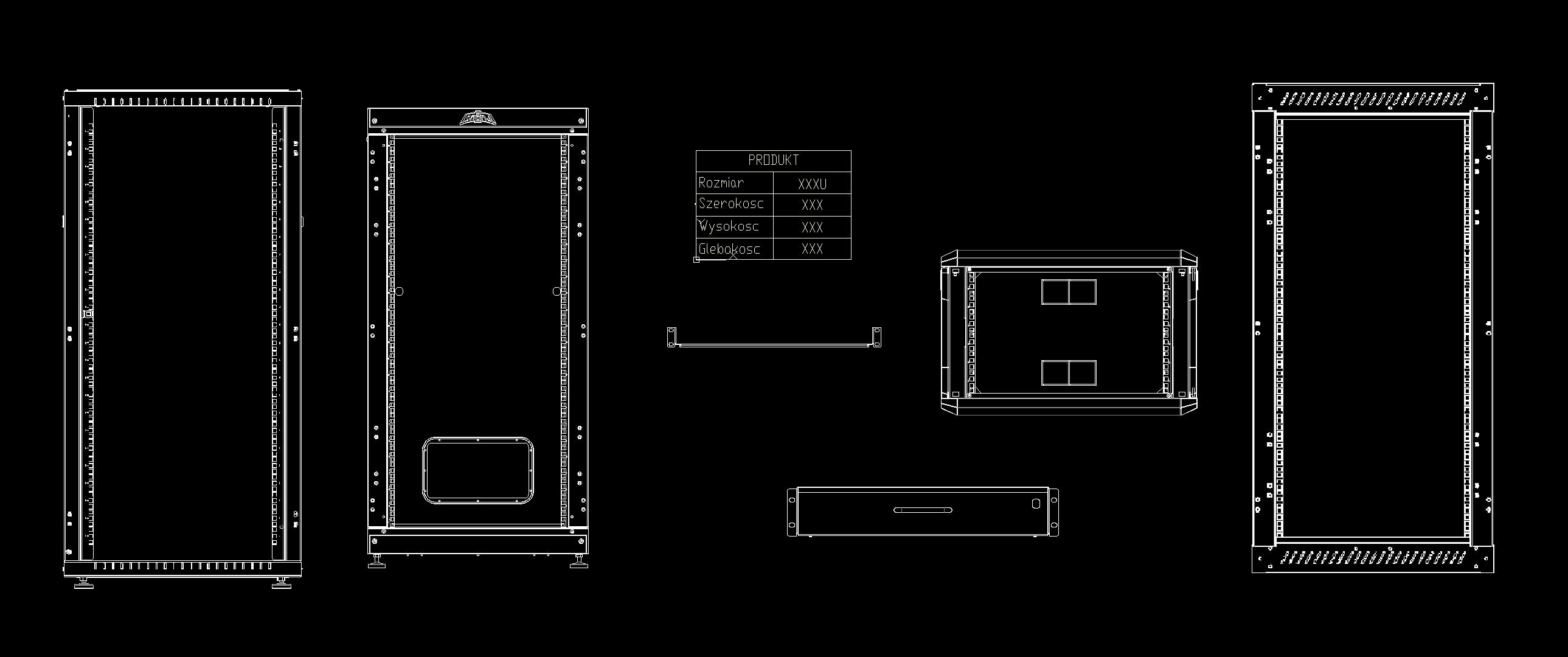Przykładowy plik DWG Sabaj System