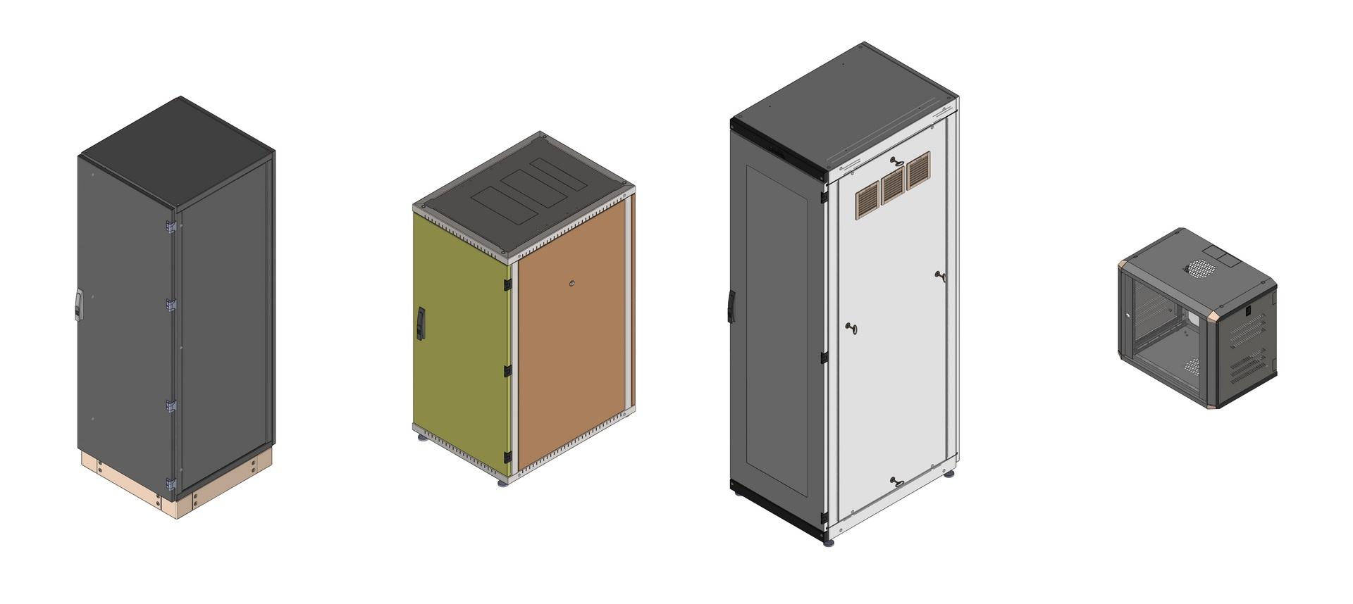 Przykładowy model 3D produktów Sabaj System